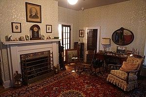 Sam Rayburn House Museum - Image: Sam Rayburn House Museum June 2017 08 (family room)