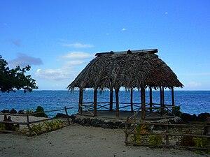 Beach fale - A Samoan beach fale