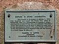 Samuel S. Lewis State Park millstone plaque.jpg
