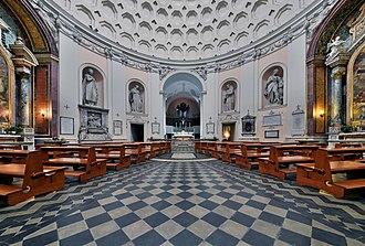 San Bernardo alle Terme - The church