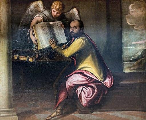 San Francesco della Vigna (Venice) - Pulpito di destro - San Matteo apostolo di Francesco Montemezzano