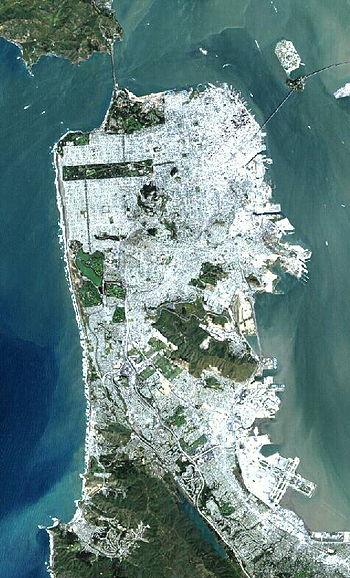 San Francisco Landsat7 Lg