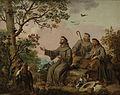 San Francisco predicando a las aves, de Antonio Carnicero.jpg