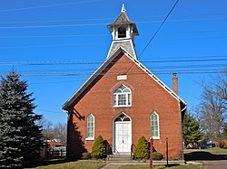 Former Sanatoga Union Sunday School building