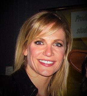 Sandrine Corman Belgian television and radio presenter