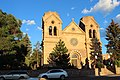 Santa Fe, New Mexico, USA - Cathedral Basilica of St. Francis of Assisi - panoramio (1).jpg