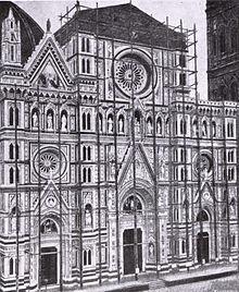 Facciata Di Santa Maria Del Fiore Wikipedia