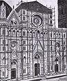 Santa Maria del fiore, facciata in costruzione.jpg