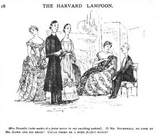 Santayana image Lampoon XI 1886