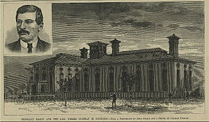 Charles J. Guiteau - A drawing of the jail where Guiteau was confined after his arrest