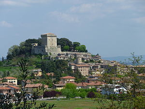 Sarteano - Panorama of Sarteano
