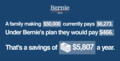 Savings of a family making $50,000 under Bernie's plan.png