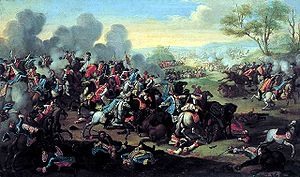 Third Silesian War - At the Battle of Kolín, Prussian forces made an unsuccessful attack on Austrian reinforcements en route to relieve the Siege of Prague.