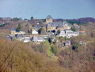 Solingen - Schloss Burg, Burg-on-Wupper