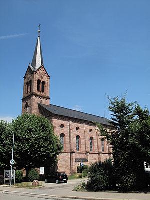 Schopfheim - Image: Schopfheim, die katholische Kirche foto 3 2013 07 26 13.57