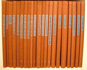 Neue Schütz-Ausgabe - Volumes of the edition