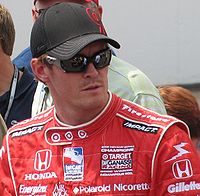 Scott Dixon 2009 Indy 500 Carb Day.JPG