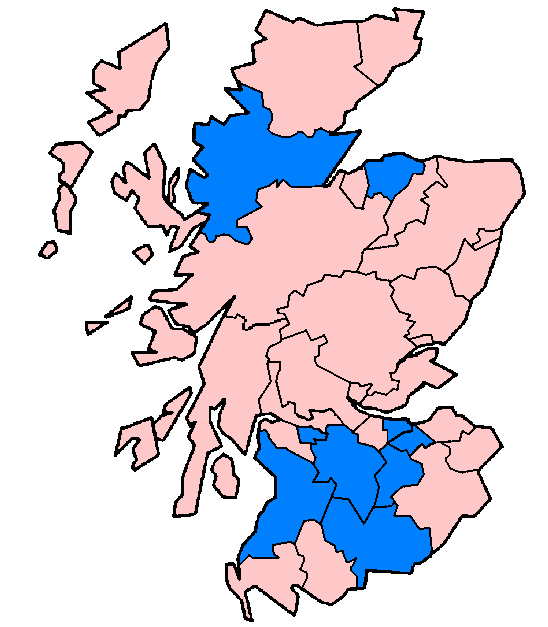 Scottish 1997 non-administrative counties flood damage July 24 2007