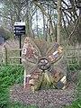 Sculpture at entrance to Trevor Basin - geograph.org.uk - 1241189.jpg