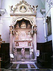 Tomb of Cardinal Rainaldo Brancacci
