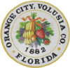 Official seal of Orange City, Florida