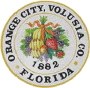 Orange City, Florida - Image: Seal of Orange City, Florida