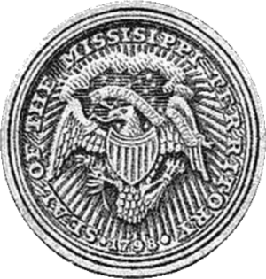 Mississippi Territory - Image: Seal of the Mississippi Territory
