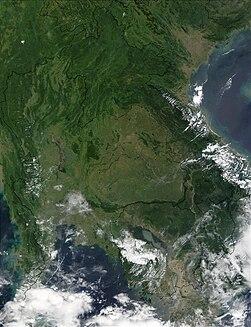 Seasonal flooding in Thailand and Cambodia 2002 October 9.jpg