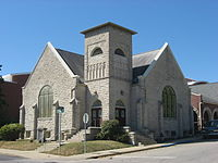 Second Baptist Church in Bloomington, front and side.jpg