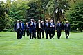 Secretary Kerry Walks With the Ministerial Delegation of the Arab Peace Initiative.jpg