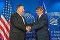 Secretary Pompeo Meets With European Parliament President Sassoli (48670304217).jpg