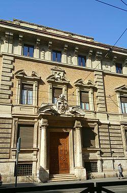 Sede Pontificio Istituto di Archeologia Cristiana a Roma.jpg