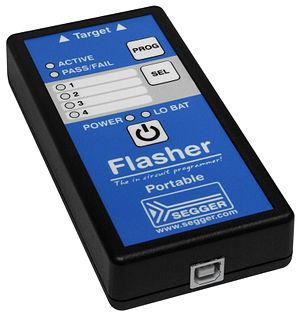 Segger Microcontroller Systems - Image: Segger Flasher Portable