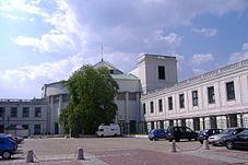 Budynek Sejmu w Warszawie