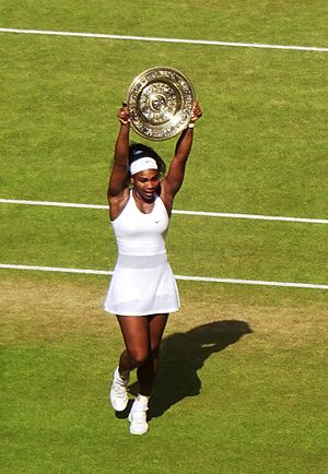 2016 WTA Tour - Image: Serena Williams won her 6th Wimbledon