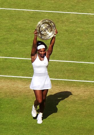 2016 WTA Tour - Image: Serena Williams won her 6th Wimbledon