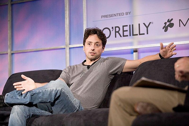 File:Sergey Brin, Web 2.0 Conference.jpg
