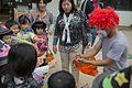 Service Members teach Halloween tradition to Japanese preschoolers 151027-M-RP664-005.jpg