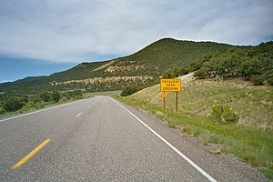 Utah State Route 72 - State Route 72 inside Fishlake National Forest