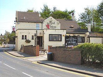 Shadwell, West Yorkshire - Image: Shadwell 18Red Lion