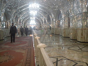 Shah-Abdol-Azim shrine - Inside Shrine