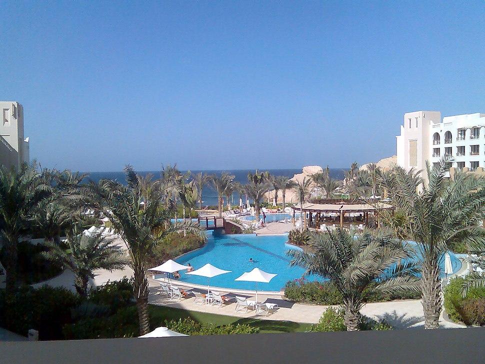 Shangri La resort in Muscat