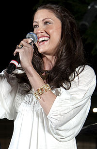 Shannon Elizabeth em março de 2009.