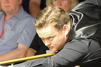 Shaun Murphy - Murphy at the 2012 Paul Hunter Classic