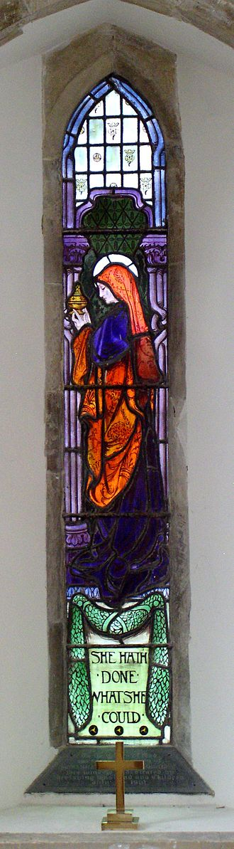 St Peter's Church, Henfield - The Mary Magdalene window