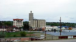 View of south Sheridan from I-90