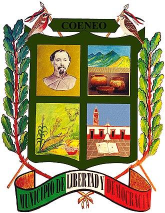 Coeneo de la Libertad - Image: Shiel Of Coeneo