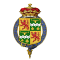 Shield of arms of Alexander Duff, 1st Duke of Fife, KG, KT, GCVO, VD, PC.png