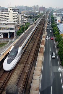 Hakata-Minami Line Extension of the Sanyō Shinkansen in Fukuyama Prefecture, Japan