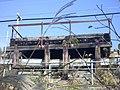 Shinkansen Otaka set-off workshop evacuation space(wooddeck)1.jpg